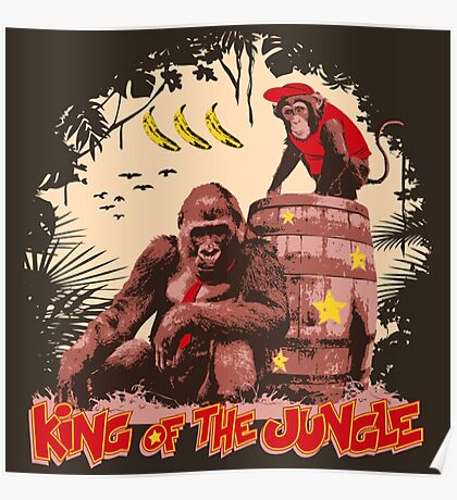 Donkey Kong - King of the Jungle Poster