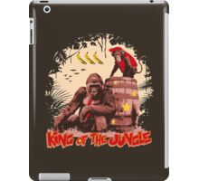 Donkey Kong - King of the Jungle iPad Case/Skin