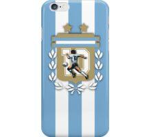 Diego Armando Maradona 10 iPhone Case/Skin