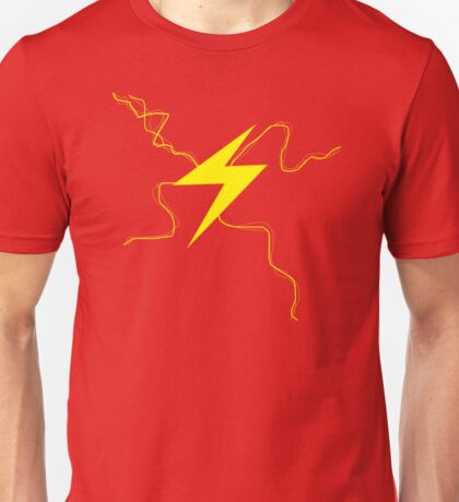 Fast Man Lightning Unisex T-Shirt