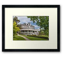 Edwardian Mansion Framed Print