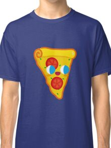 Happy Pizza Face Classic T-Shirt