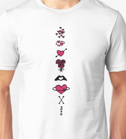 Coloured Love Unisex T-Shirt