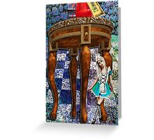 IN WONDERLAND Greeting Card