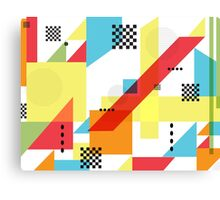Package Pattern Canvas Print