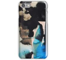 Blues Water & Ink iPhone Case/Skin