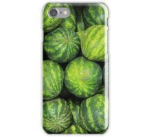 Watermelons at the Market iPhone Case/Skin