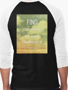 Find Your Eternity Men's Baseball ¾ T-Shirt