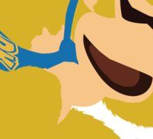 Yellow Donkey Kong Sticker
