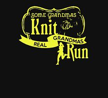 Real Grandmas Run Unisex T-Shirt