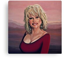 Dolly Parton 2 painting Canvas Print