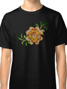 Tonal Flowers Classic T-Shirt