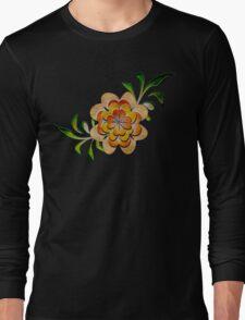 Tonal Flowers Long Sleeve T-Shirt