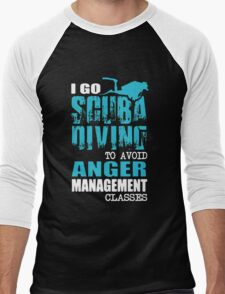 I Go Scuba Diving Men's Baseball ¾ T-Shirt