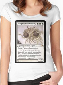FSM Card Women's Fitted Scoop T-Shirt
