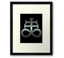 THE LEVIATHAN CROSS - reel steel Framed Print