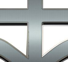 THE LEVIATHAN CROSS - reel steel Sticker