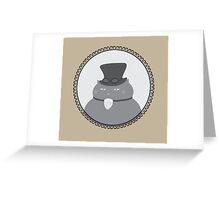 Fancy Feline Greeting Card