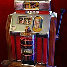 Vintage Slot Machine by Gregory Dyer
