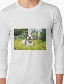 Pit Bull T-Bone Long Sleeve T-Shirt
