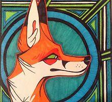 Foxy- Art Deco by DisneyFreak123