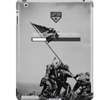 Capturing A Position iPad Case/Skin