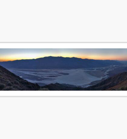 Death Valley Dantes Peak Sticker
