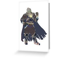 OldMan Ganondorf Greeting Card