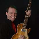 Smiling Bryan and a Gibson  by GWGantt