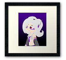 Splatoon - Haku Yowane Framed Print
