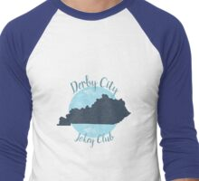 Denim Derby City  Men's Baseball ¾ T-Shirt