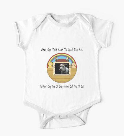 But The Pit Bull One Piece - Short Sleeve