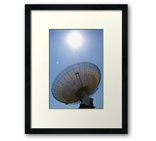 The Parkes Dish Framed Print