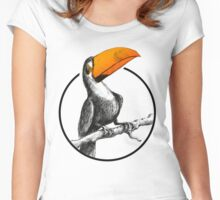 The Brilliant Toucan Women's Fitted Scoop T-Shirt