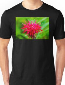 Bee Balm - Red Unisex T-Shirt