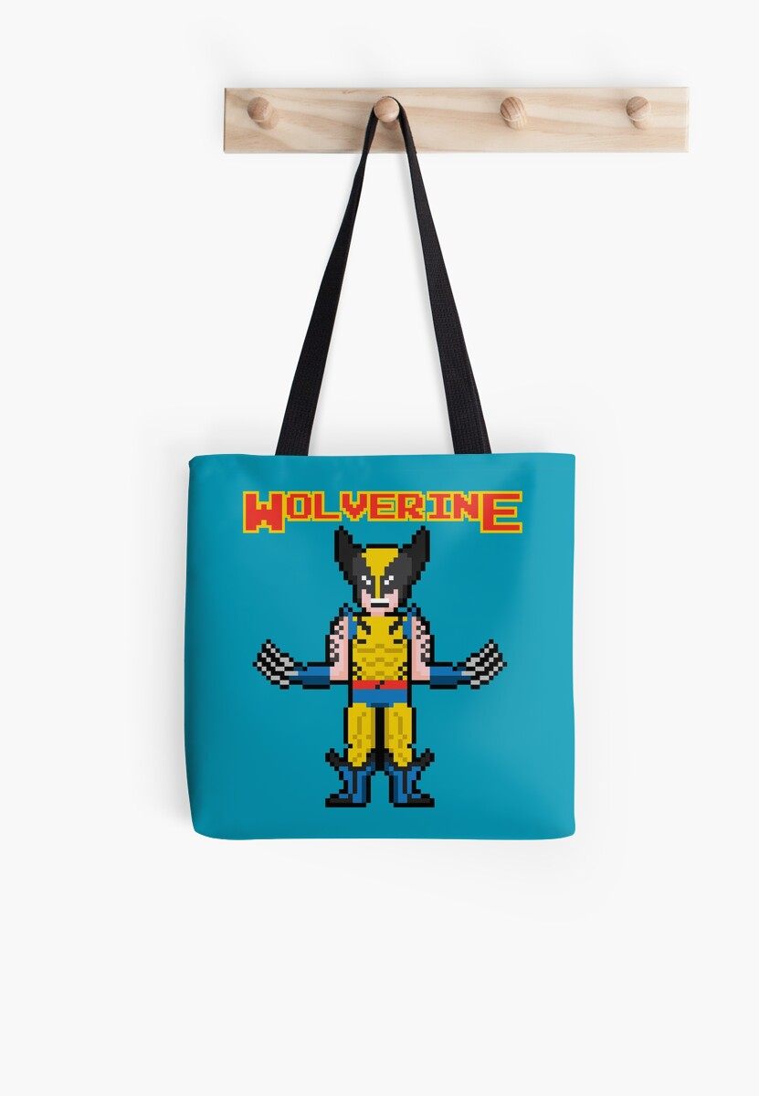 8Bit Wolverine by The World Of Pootermobile