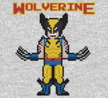 8Bit Wolverine One Piece - Short Sleeve