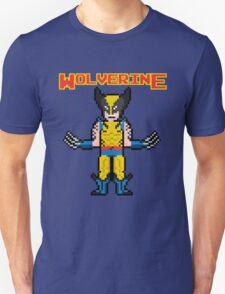 8Bit Wolverine T-Shirt