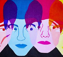 The Beatles by mvrykvte