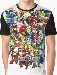 Lost In Saga All Character Graphic T-Shirt