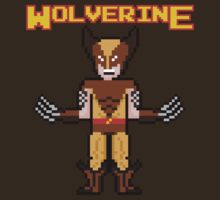 8Bit Wolverine (Brown) by The World Of Pootermobile