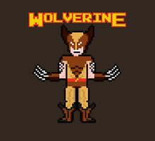 8Bit Wolverine (Brown) Unisex T-Shirt