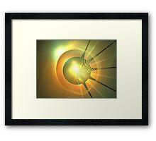 Jupiter Sun Framed Print