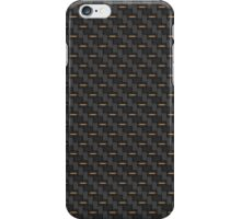 Carbon fibre - copper wire reinforcing iPhone Case/Skin