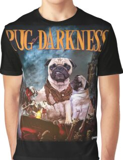 Pug of Darkness Graphic T-Shirt
