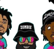 Flatbush Renegades Zombies Sticker