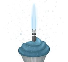 Jedi Birthday Cupcake by abitfrank