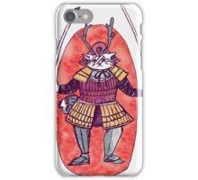 Rail the Samurai Cat iPhone Case/Skin