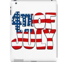 4th of July iPad Case/Skin