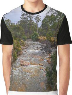 Creek, Rossarden, Tasmania, Australia Graphic T-Shirt
